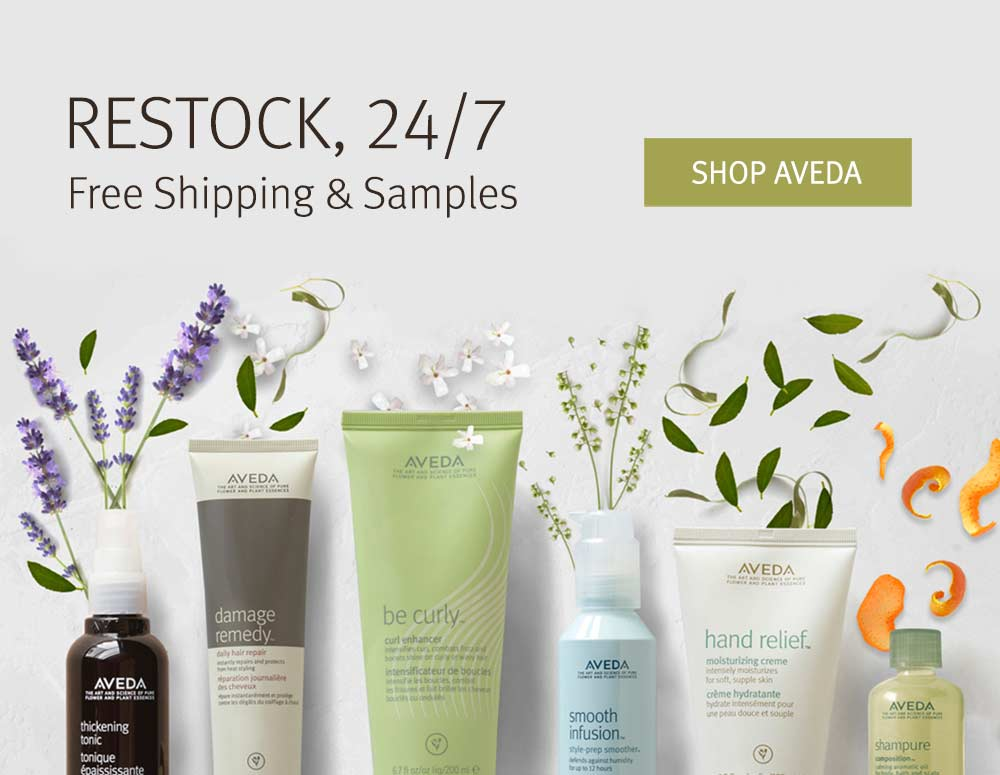 Restock on Aveda Products
